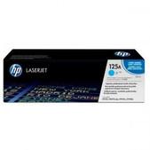 Hewlett Packard-Hp 125a Cyan Toner 1,400 Page Yield For Clj Cm1312, Cp15xx SKU CB541A