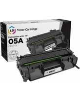Hewlett Packard-Hp 05a Black Toner 2,300 Page Yield For Lj P2035, P2055 SKU CE505A