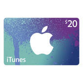iTunes Gift Cards $25 SKU iTunes25