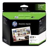 Hewlett Packard-Hp 63 3jr59a Ink Photo Value Pack SKU 3JR59A
