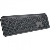 Logitech Mx Keys Advanced Wireless  Illuminated Keyboard, Unifying Receiver Or  Bluetooth,