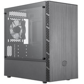Coolermast-Coolermaster Masterbox Mb400l Tg Matx, Tempered Glass Window SKU MCB-B400L-KGNN-S00