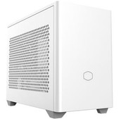 Coolermast-Coolermaster Nr200 White, Mini-itx, Steel Side Panel, 1x 120mm Fan, Aio Cooler Support SKU MCB-NR200-WNNN-S00