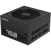 Gigabyte-Gigabyte P750gm Power Supply, 750w, 80 Plus Gold, Modular, 3yr Wty SKU GP-P750GM