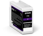 Epson-Epson Ultrachrome Pro10 Ink Surecolor Sc-p706 Violet Ink Cart SKU C13T46SD00