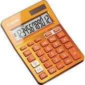 Ls123kmor Metallic Orange 12 Digit Desktop Calculator
