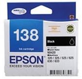 Epson-138 High Capacity Bundle Pack 4 Inks4x6 Gpp 20p Stylus 7510 Nx420 Wf320325 525625630 SKU C13T138695
