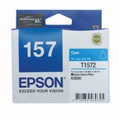 Epson-157 Cyan Ink Cartridge For Stylus Photo R3000 SKU C13T157290