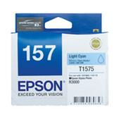 Epson-157 Light Cyan Ink Cartridge For Stylus Photo R3000 SKU C13T157590