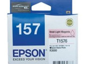 Epson-157 Vivid Light Magenta Ink Cartridge For Stylus Photo R3000 SKU C13T157690