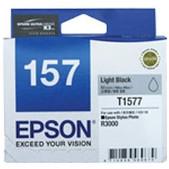 Epson-157 Light Black Ink Cartidge For Stylus Photo R3000 SKU C13T157790