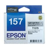 Epson-157 Light Light Black Ink Cartridge For For Stylus Photo R3000 SKU C13T157990
