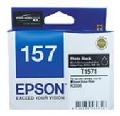 Epson-157 Photo Black Ink Cartridge For Stylus Photo R3000 SKU C13T157190