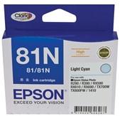 Epson-Light Cyan 81/81n High Yield Stylus Photo 1410 R290 R390 Rx590 Rx610 Rx690tx700w SKU C13T111592