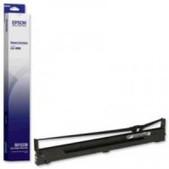 Epson-Epson C13s015336 Black Ribbon For Lq-2090 SKU C13S015336