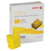 Fujifilm-Yellow Ink Sticks 6 Sticks Yield 16900 Pages For Colorqube 8900 SKU 108R01032