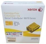 Fujifilm-Yellow Ink Sticks 16.7k 6pk Colorqube 8870/8880 SKU 108R00987