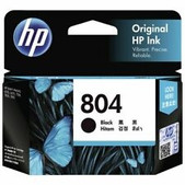 Hewlett Packard-Hp 804 Blk Ink Cart 200 Pages For Hp Envy 6220 6222 7120 7820 7822 SKU T6N10AA