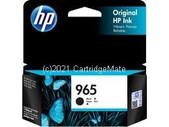 Hewlett Packard-Hp 965 Black Original Ink Cartridge 1000 Pages SKU 3JA80AA