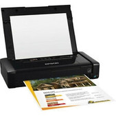 Epson-Epson Workforce Wf-100 4 Colour Inkjet Wireless Mobile Printer SKU C11CE05501