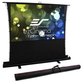 Elite Screens-74 Portable 43 Pull-up Projector Screen Tab Tension Compatibile With Ust SKU FT74XWV
