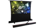 Elite Screens-84 Portable 43 Pull-up Projector Screen Tab Tension Compatibile With Ust SKU FT84XWV