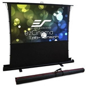Elite Screens-90 Portable 169 Pull-up Projector Screen Tab Tension Compatibile With Ust SKU FT90XWH