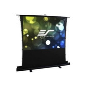 Elite Screens-92 Portable 169 Pull-up Projector Screen Tab Tension Compatibile With Ust SKU FT92XWH