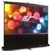 Elite Screens-95 Portable 1610 Pull-up Projector Screen Floor Pull Up Swivel Legs Ezcinema SKU F95NWX
