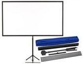 Epson-Epson 80 Portable Tripod Projector Screen Widescreen Incl Shoulder Bag SKU V12H002S2Y