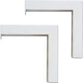 Elite Screens-6 Wall/ceiling Bracket Set For Manual Spectrum Vmax2 Series SKU ZVMAXLB6-W