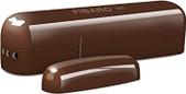 Fibaro-Fibaro Z-wave Door Sensor Dark Brown SKU FGK107