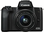 Canon-Eos M50 Mirrorless Dslr With Ef-m15-45stm Single Kit SKU M50KIS
