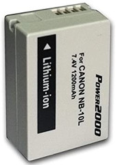 Canon-Nb10l Lithium Ion Battery For Sx40hs SKU NB10L