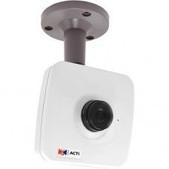 Acti-E12a 3mp Fixed Cube Cam Wdr 1 080p/30fps Fix Lens Audio F 4.2mm/f1.8 Dnr H.264 SKU E12A