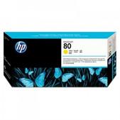 Hewlett Packard-Hp 80 Yellow Print Head Cleaning Kit For Dj1000 SKU C4823A