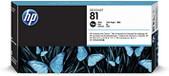 Hewlett Packard-Hp 81 Black Dye Printhead And Cleaner For Dj5500 5000 SKU C4950A
