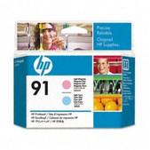 Hewlett Packard-Hp 91 Light Magenta And Light Cyan Printhead SKU C9462A