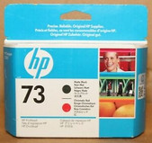 Hp-Hp 73 Matte Black And Chromatic Red Printhead - Z2100/3100 SKU CD949A