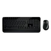 Microsoft-Microsoft Wireless Desktop 2000 Series Usb Mouse & Keyboard - Retail Box (black) SKU M7J-00019