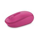 Microsoft-Microsoft Wireless Mobile Mouse 1850 - Retail Box (magenta Pink) SKU U7Z-00066