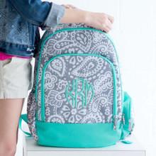 Kids School Backpacks Parker Paisley Style LARGE Size