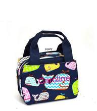 Whales Printed Personalized Kid Lunch Boxes