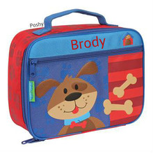 Monogrammed Lunch Boxes in Dog