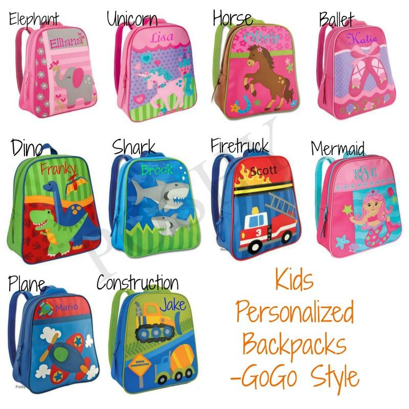 Kids Backpack- Kids Personalized Stephen