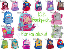 Kids Backpack- Toddler Backpack Personalized Stephen Joseph Sidekicks