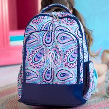 Kids Backpack- Kids Personalized -Monogrammed Kids Backpack -Sophie Print