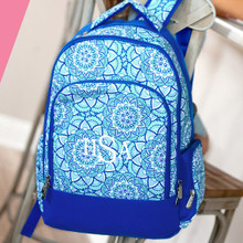 Kids Backpack- Kids Personalized -Monogrammed Kids Backpack -Day Dream Print