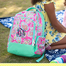 Kids Backpack- Kids Personalized -Monogrammed Kids Backpack -Lizzie Print