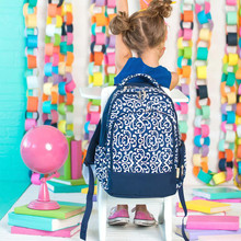 Kids Backpack- Kids Personalized -Monogrammed Kids Backpack -Dani Print